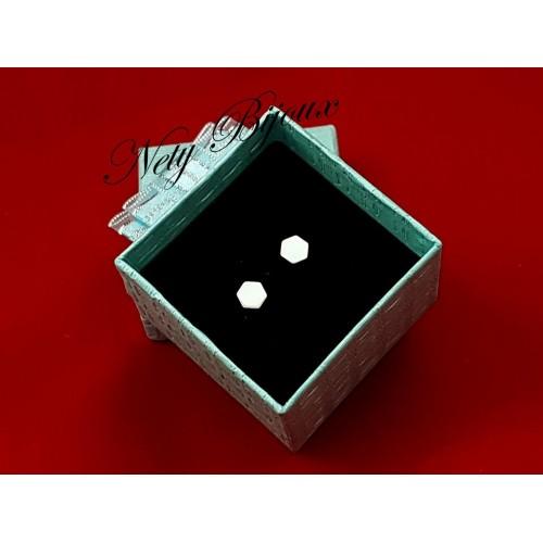 Cercei hexagon Arg